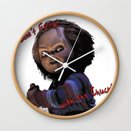 Charles Lee Ray: Monster Madness Series 3 Wall Clock