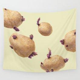 Potatoes Wall Tapestry