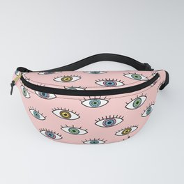 Evil Eye Pattern Fanny Pack