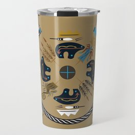 American Native Pattern No. 40 Travel Mug