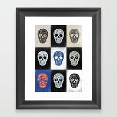 Memento Mori - BMD Design Framed Art Print