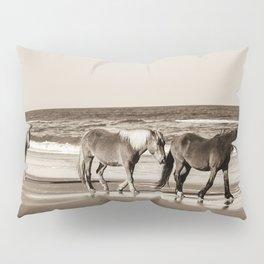 Horses of OBX Pillow Sham