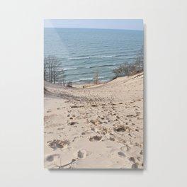 On to the Horizon Metal Print