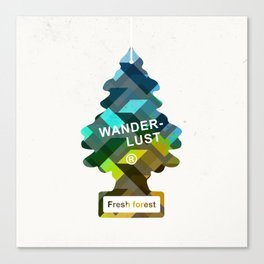 Wunderbar forests Canvas Print