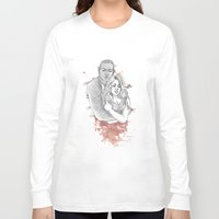 kendrawcandraw Long Sleeve T-shirts featuring I think the kids are in trouble by kendrawcandraw