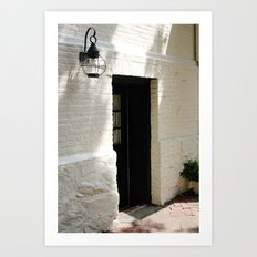 In the Alley Art Print