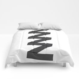Abstract Column Comforters