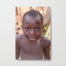 African Child, Benin Metal Print