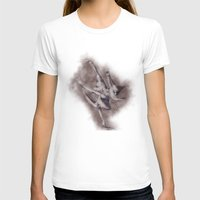 ballerina T-shirts featuring Ballerina by EY Cartoons