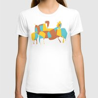 horses T-shirts featuring Horses by Pablo Correa