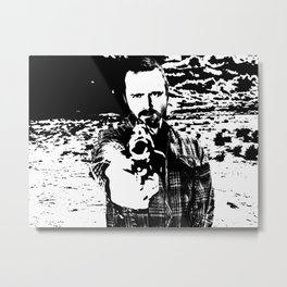 Jesse Pinkman Breaking Bad Metal Print