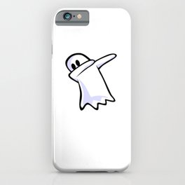 Dabbing Ghost iPhone Case