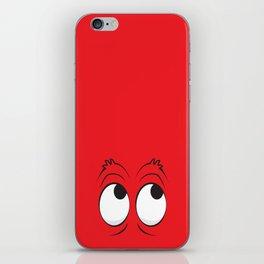 Monster Eyes Red iPhone Skin