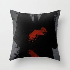 Murder Suit Throw Pillow