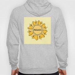 Relax Nouveau Golden Sun Mandala Hoody