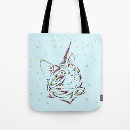 Behold the Wondrous Unicat! Tote Bag