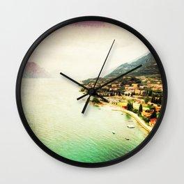 Oceanfront Wall Clock