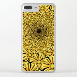 ZS AD Floral Pattern 2.1.2A. S6 Clear iPhone Case