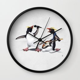 Rock (wordless) Wall Clock