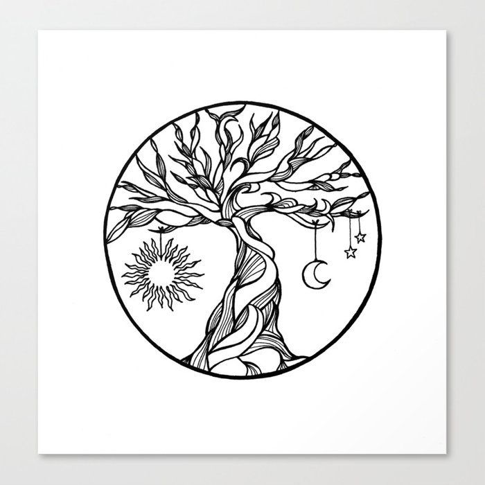 Abstract Vibrant Tree Logo Design, Root Vector - Tree Of Life ... | 700x700