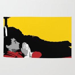 Against All Odds - Ayrton Senna Rug
