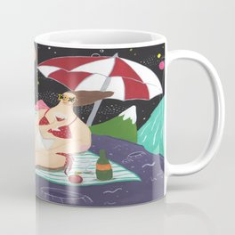 Vacation In Outer Space Coffee Mug