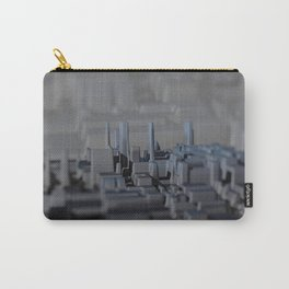 Urban technology buildings space aerial view Carry-All Pouch
