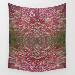 Floral Shimmer Bloom Wall Tapestry