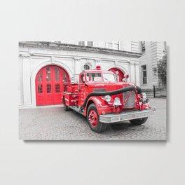 Fire Engine House No. 1 Metal Print