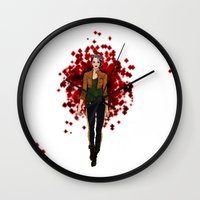 rogue Wall Clocks featuring Rogue by DiegoC
