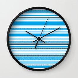 Halyard Blues Wall Clock