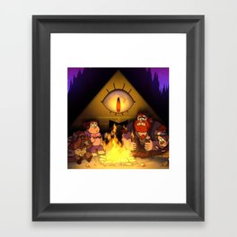 Bill Cipher Gravity Falls Weirmageddon t-shirt Framed Art Print