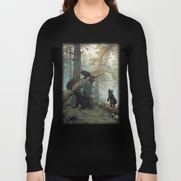 Shishkin Ivan Morning in a Pine Forest. Long Sleeve T-shirt