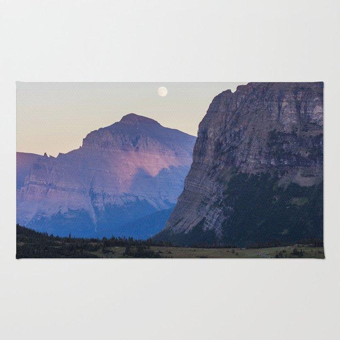 Glacier Moon Rug