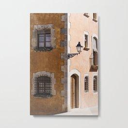 Corner House Metal Print