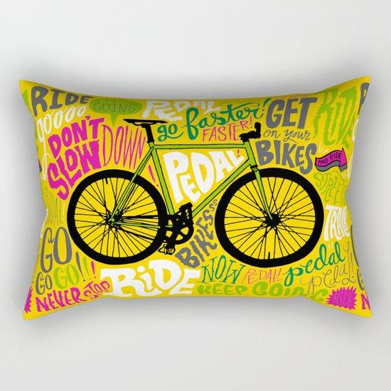 RIDE YOUR BIKES Rectangular Pillow