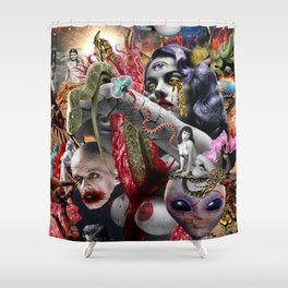 Cosmic Witchcraft Shower Curtain