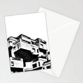 Habitat 67 Modern Architecture B&W Stationery Cards