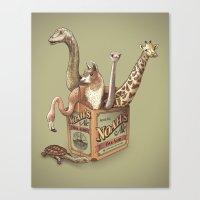 ale giorgini Canvas Prints featuring Noah's Ale by Santo76