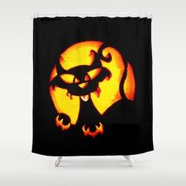 Halloween Trick or Treat Bag Shower Curtain