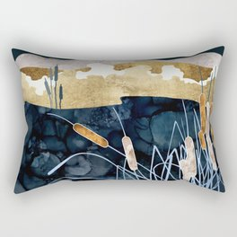Summer Lake Rectangular Pillow