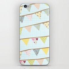 bunting fun iPhone & iPod Skin