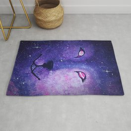Serendipity - Wolf Dog Painting Rug