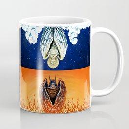 Duality: Angel/Devil Tiling (Color) Coffee Mug