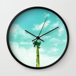 Leave your fears at home, darling Wall Clock