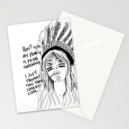 Attention Whore - BW Stationery Cards
