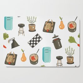 Retro Cooking Cutting Board