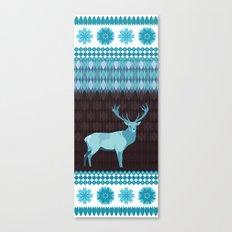 Winter Deer Canvas Print