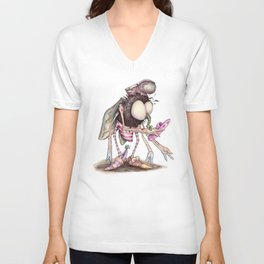 The Shoe Fly (A Flew) Unisex V-Neck