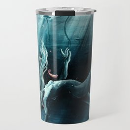 Dance of the Waterlily Travel Mug